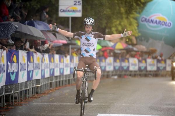 Jan Bakelants vainqueur au Tour d'Emilie 2015