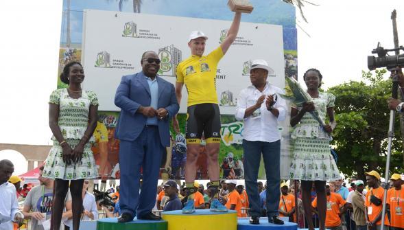 Adrien Petit vainqueur Tour du Gabon 2016