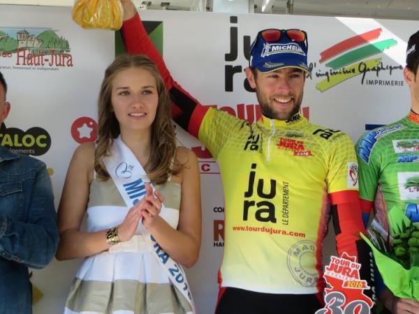 Sylvain Georges 1ère étape du Tour du Jura 2016