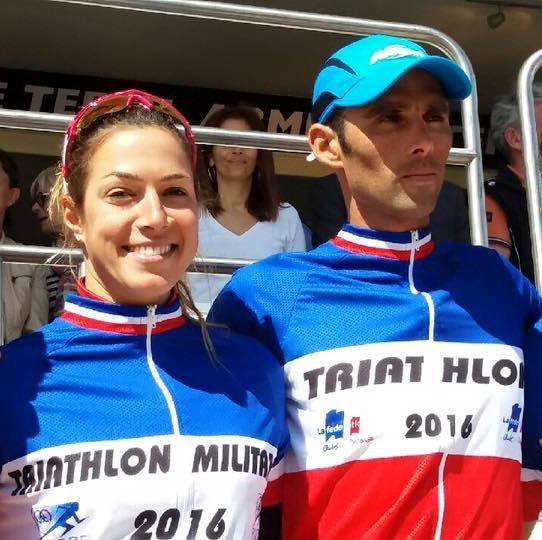 Charlotte Morel et Toumy Degham Champions de France militaire 2016