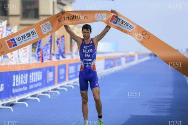 Bertrand Billard Champion du Monde de Triathlon LD 2014