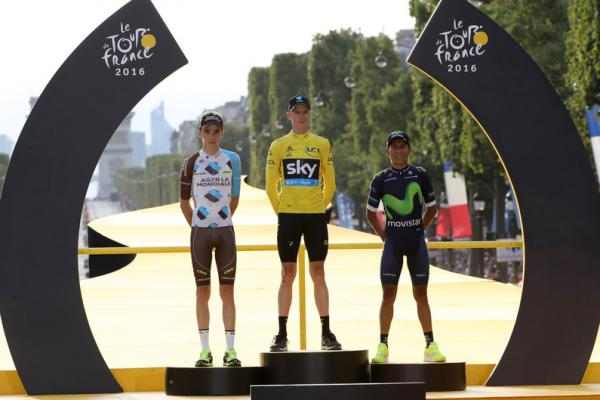 Podium du Tour de France 2016