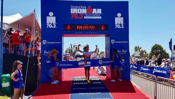 Victoire Romain Guillaume IM 70.3 Afrique du Sud