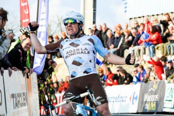 Victoire de Samuel Dumoulin 1ère étape Tour du Haut Var 2017