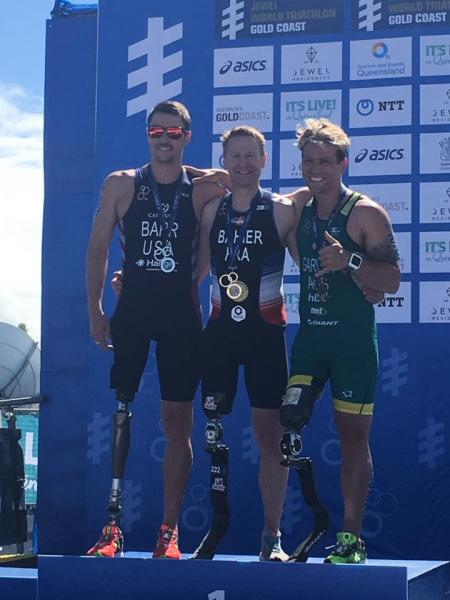 Bahier Stéphane World Paratriathlon séries Gold Coast