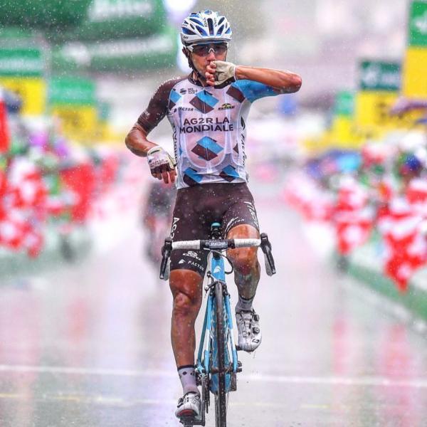 Domenico Pozzovivo vainqueur 6ème étape Tour de Suisse