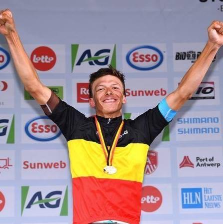 Oliver Naesen Champion de Belgique sur route 2017