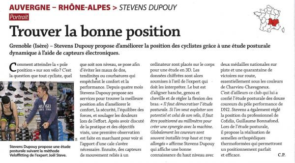 Article Stivens Dupouy Le Cycle N°492