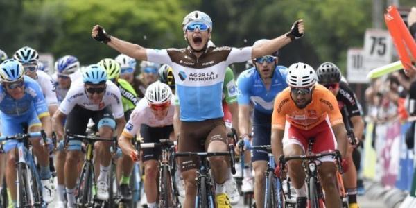 Clément Venturini 2ème étape Tour d'Occitanie