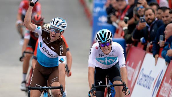 Alexandre Geniez vainqueur 12ème étape Vuelta 2018
