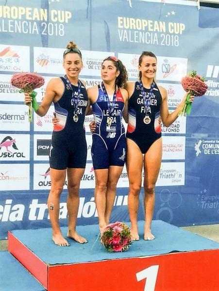 Triplé féminin Français à la Coupe d'Europe de Valencia 2018