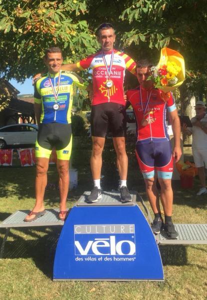 Diego Soler Champion d'Occitanie 2018
