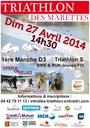 affiche triathlon 2014