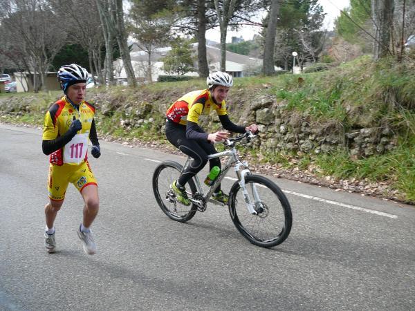 bike and run manosque équipe cadet