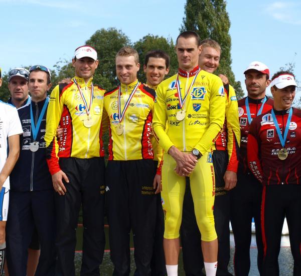 Parthenay podium duathlon
