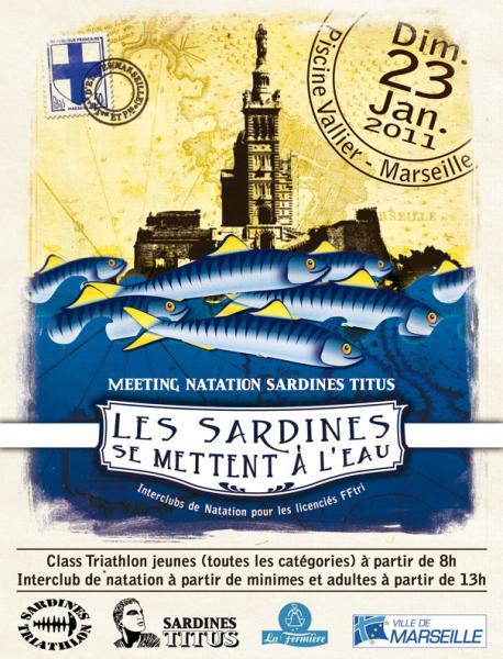 affiche meeting sardines