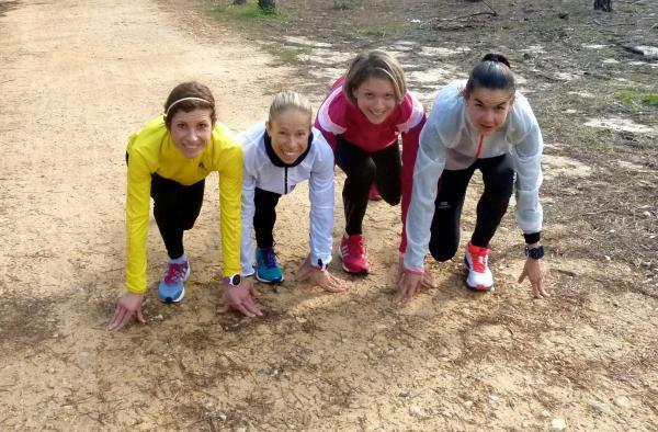 Equipe féminine marathon du stage, Monte Gordo (Portugal)