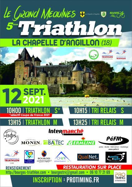 Triathlon Grand Meaulnes 2021_affiche